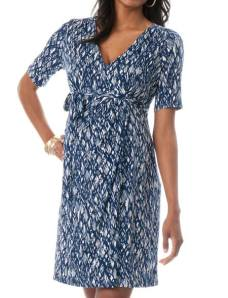 Wrap Maternity Dress